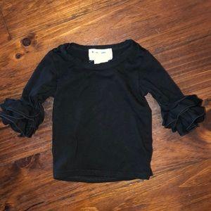 Other - Quad Ruffle Sleeve Shirt Size 6 months (xxs)